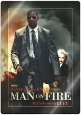 MAN ON FIRE, Mann unter Feuer (Denzel Washington) Steelbook