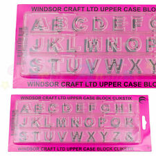WINDSOR CLIKSTIX Block Upper Case Capital Letter Cutter
