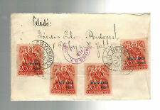 1939 Budapest Hungary Registered Airmail cover to USA