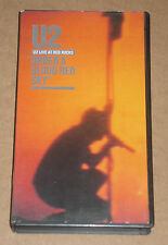 U2 - UNDER A BLOOD RED SKY - VIDEOCASSETTA VHS