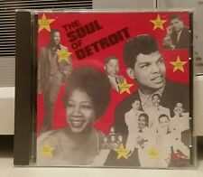 The Soul of Detroit by Various Artists (CD, Sep-1992, Relic Records)