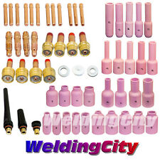 TIG Welding Gas Lens Kit 040-1/16-3/32-1/8 for Torch 17/18/26 T28B | US Seller