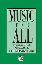 Music for All: Teaching Music to People with Special Needs