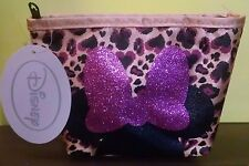 Disney Girl's Minnie Mouse Cosmetic Case Women's / Teen Girls  New 2014