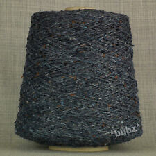 ANGORA WOOL BLEND YARN DENIM TWEED 500g CONE 10 BALLS DOUBLE KNITTING DK DONEGAL