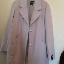 Atmosphere Primark Lilac Oversized Boyfriend Coat Jacket Size 12 Bnwt