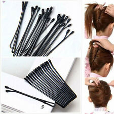 Hot 50PCS Metal Bobby Salon Pins Grips Hairpins Barrette Hair Clips