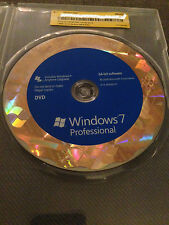 Microsoft Windows 7 Professional 64/32 Retail Version with 2 DVD's & Product Key