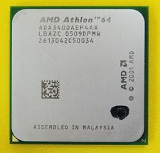 Procesador/PC/CPU AMD Athlon 64 3400+/ada3400aep4ax/socket 754
