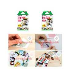 4 Pack Fujifilm Instax Mini Film 40 Pcs 90 8 25 7S 50s 100 SP-1 Instant Camera