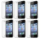 6x Ultra Clear HD Screen Display Cover Film Protector for Apple iPhone 4 4S 4G