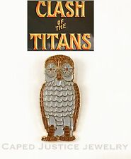 Clash Of The Titans Bubo the Owl Metal Pin