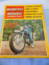 Motorcycle Mechanics(oct1971 )Yamaha AS1/Trident750/TR6 Trophy/BSA Tune up/