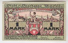 1 Mark Banknote Notgeld Stadt Sparkasse Bielefeld 1921 (110202)