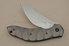 FOX Knife - 302 Anso Flipper w/ Titanium Handle & N690Co Stainless Steel