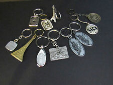 LOT of 11 KEYCHAINS ~ Advertising / Casino / Vacation Theme (1ACW)