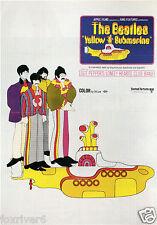 BEATLES Yellow Submarine Film Poster John Lennon Paul McCartney Harrison & Starr