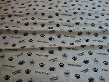NITTANY LIONS COTTON FABRIC, BY THE YARD