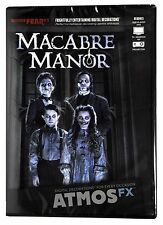 Halloween ATMOSFEARFX MACABRE MANOR DVD TV WINDOW PROJECTION Haunted House