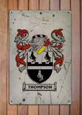 Wang Coat of Arms A4 Aged Retro 10x8 Metal Sign Aluminium Heraldry