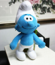 The Smurfs II Character Clumsy Smurf Plush 3D Toy Soft Stuffed Christmas Hot Toy