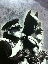banksy BATMAN  wall decor graffiti art PRINT CANVAS A1 SIZE