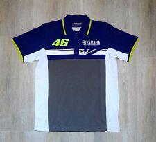 USED Men`s T-Shirt  Valentino Rossi VR 46 Moto GP POLO T-SHIRT  SIZE:M