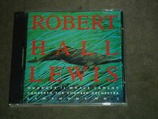 Robert Hall Lewis Nuances II Whale Lament Concerto for Chamber Orch Symphony 2