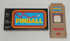 Working 1979 Milton Bradley Microvision Pinball Cartridge with Box R8433