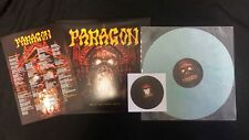 PARAGON - HELL BEYOND HELL LIMI. 49 COPIES LP + CD TURBO TURQUOISE MARBLED VINYL