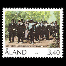 Aland 1992 - 70th Anniversary of the Local Parliament - Sc 68 MNH