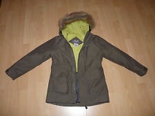 85. Jack Wolfskin Fairbanks Girls Mantel Parker Jacke Texapore Gr 140 kaki