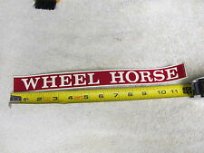 "NEW OLD STOCK Vintage Wheel Horse 12"" Sticker, Decal , NOS, ORIGINAL"