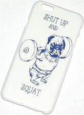 "HARD CASE SHUT UP AND SQUAT FÜR IPHONE 6 4,7"" SCHUTZHÜLLE COVER NEU"