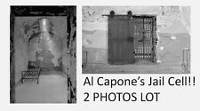 Al Capone Jail Cell PHOTOS Chicago Gangster,Bootlegger,Prison, Eastern State Pen