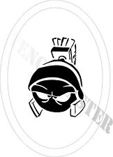 MARVIN THE MARTIAN Cartoon STENCIL for Temp Tattoo Size - 65mm