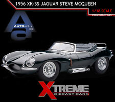 AUTOART 73526 1:18 1956 XK-SS JAGUAR STEVE MCQUEEN PRIVATE COLLECTION DIECAST