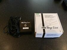 IMG Stage line FS100 Foot Switch Boxed never used.
