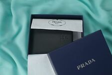 NEW DESIGNER PRADA BRAND MEN BIFOLD WALLET - LIMITED STOCK