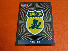 N°566 BADGE  FC NANTES CANARIS FCN  D2  FOOT 2008 FOOTBALL 2007-2008