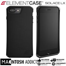 Element Case SOLACE LX Genuine Leather Case For iPhone 7 PLUS BLACK | MIL-SPEC