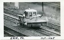 6C762 RP 1965 NEW YORK CENTRAL RAILROAD MoW FLANGER GRADER CAR ERIE PA