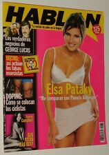 HABLAN # 34 / ELSA PATAKY NAOMI CAMPBELL DONNA D'ERRICO CRISSIE HYNDE PRETENDERS
