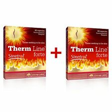OLIMP Therm Line Forte 120 Capsules FAT BURNER FOR MEN, WEIGHT LOSS PILLS