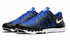 2016 Nike Free Trainer 5.0 V6 AMP SZ 9 Duke Blue Devils Black NCAA 723939-041