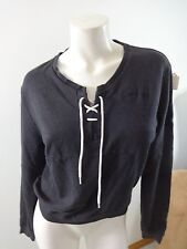 NIKE COWBOYS DEEP PLUM PURPLE PULL OVER SWEATSHIRT WITH LACE UP NECK SIZE M