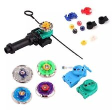 Beyblade Metal Master Tops Set With 4 Tops & Launcher In Box US Seller