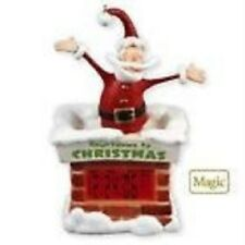 2010 Hallmark Countdown to Christmas Clock Ornament New