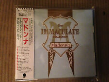 MADONNA The Immaculate Collection CD JAPAN 1ST PRESS WPCP-4000 w OBI