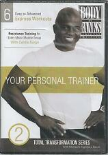 Body by Banks Your Personal Trainer Volume 2 Total Transformation dvd new
